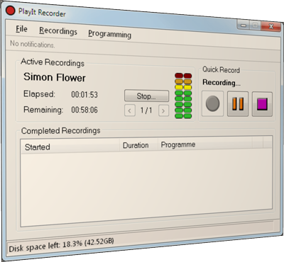 PlayIt Recorder - Products - PlayIt Software